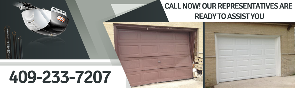 Garage Door Repair Santa Fe  TX banner
